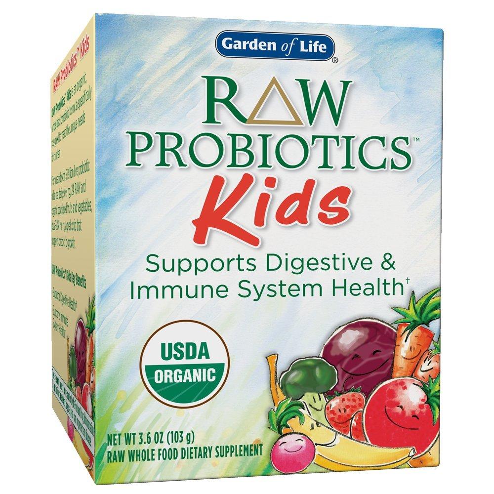 Raw Probiotics Kids Acidophilus And Bifidobacteria